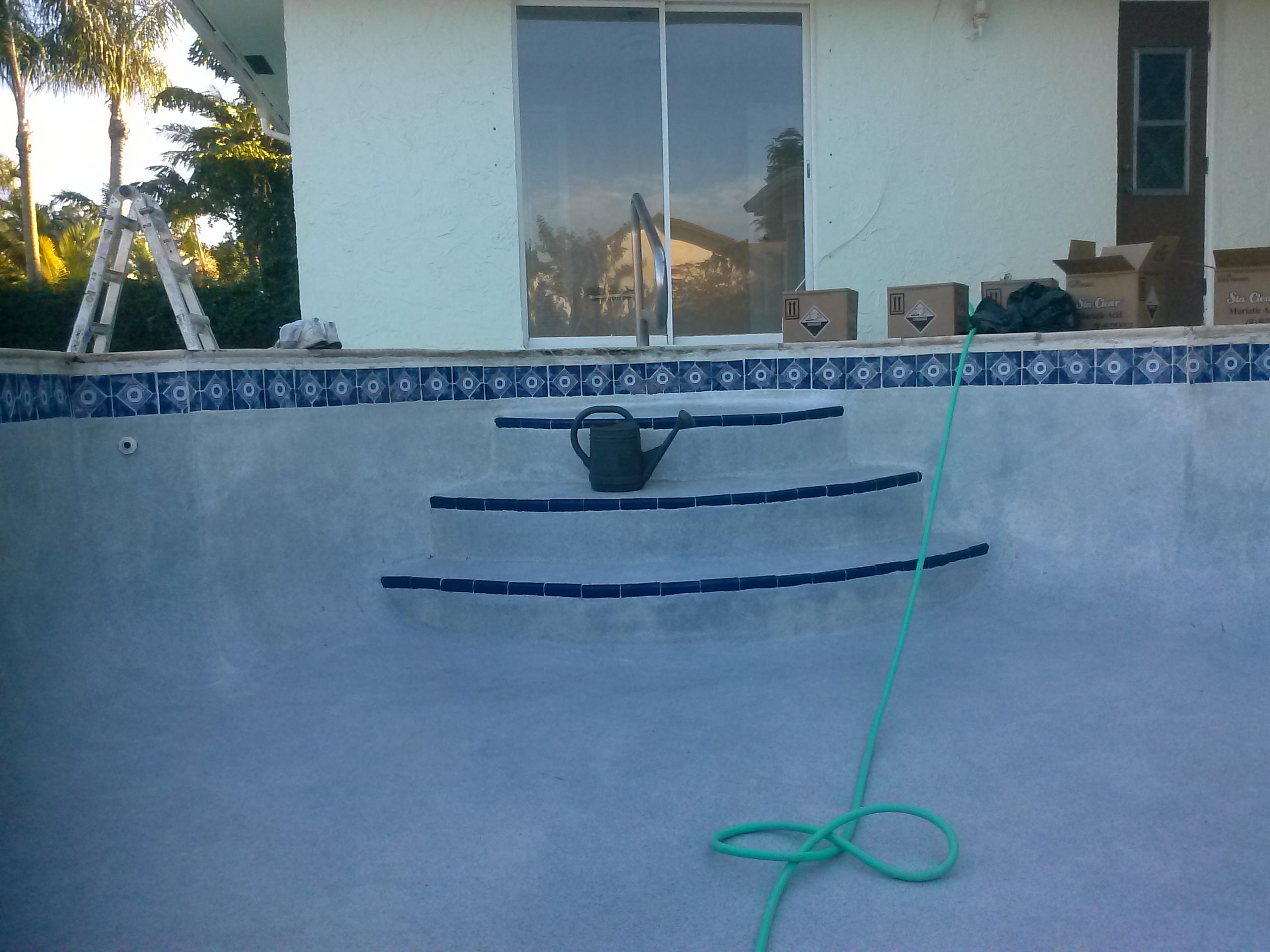 Acid Wash Pool Service : Acid wash photos pool service west palm beach